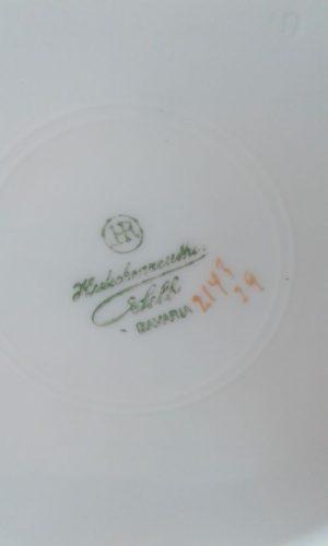 Framed Fine Hutschenreuther Fruit Plates