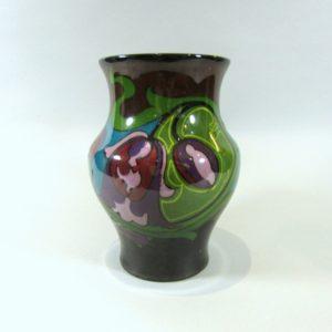 Gouda Iris Art Nouveau Vase